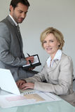 Making an appointment Stock Photos