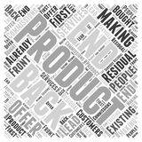 14 Making Back End & Residual Commissions word cloud concept  background Royalty Free Stock Photo