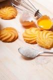 Making baking cookies Royalty Free Stock Image