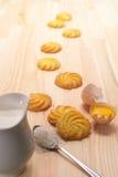 Making baking cookies Stock Photo