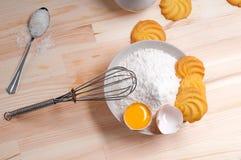Making baking cookies Stock Photos