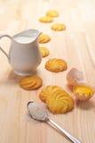 Making baking cookies Stock Image