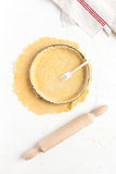 Making a Basic Shortcrust Pastry Stock Photos