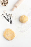 Making a Basic Shortcrust Pastry Royalty Free Stock Image