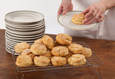 Making Biscuits Stock Photography