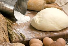 Making Bread Series 009 Royalty Free Stock Photos