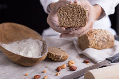 Making bread stock images