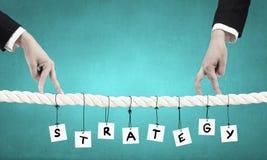 Making business advances Royalty Free Stock Image