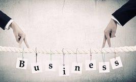 Making business advances Royalty Free Stock Photo