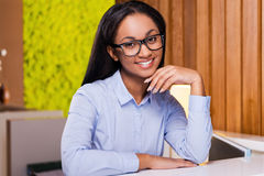 Making business look good. Royalty Free Stock Image