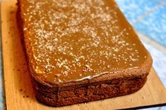 Making cake Royalty Free Stock Image