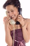 Making a call Stock Photos