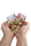 Making cash Royalty Free Stock Photo