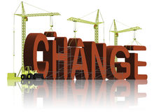 Making change evolve improvement different better Stock Images