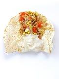 Making chicken tortilla royalty free stock photo