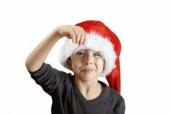 Making Christmas cookies stock photos