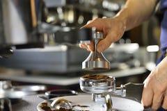 Making coffee Stock Photos