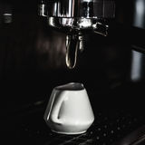 Making coffee at coffee machine Stock Photography