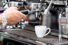 Making coffee royalty free stock photo