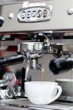 Making coffee Stock Image