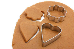 Making cookies Royalty Free Stock Photography