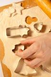 Making cookies Stock Photos