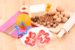 Making cookies Royalty Free Stock Photos