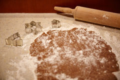 Making cookies Royalty Free Stock Photo