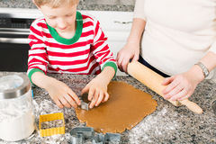 Making cookies at home Stock Photo