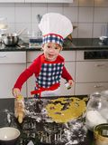 Making cookies Royalty Free Stock Images