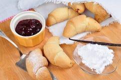 Making croissants Stock Image