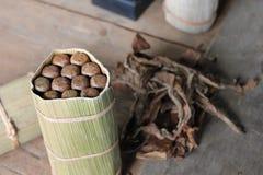 Making Cuban Cigars Royalty Free Stock Image