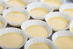 Making Cupcakes Royalty Free Stock Image