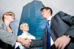Making a deal Royalty Free Stock Photos