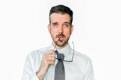 Making decisions royalty free stock photo
