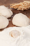 Making dough Royalty Free Stock Photos