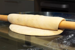 Making dough. Series. Stock Photography