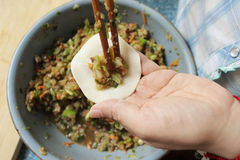 Free Making Dumplings Stock Image - 31199271