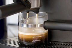 Making Espresso Stock Photos