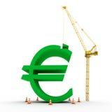 Making Euro Royalty Free Stock Photos
