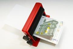 Making Euros Stock Images