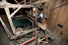 Making fabrics Stock Photos