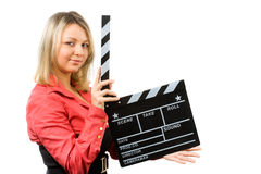 Making film Royalty Free Stock Image