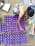Making of fireworks for Dipawali. Stock Images