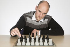 Making the first move Stock Photography