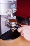 Making fresh coffee. royalty free stock photo