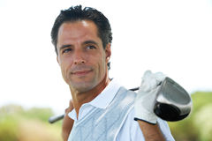 Making golf look chic Stock Photography
