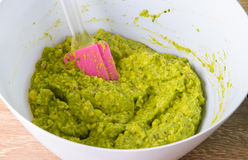 Making guacamole Stock Images