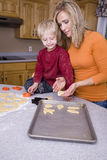 Making Halloween cookies Stock Image