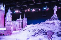 The Making of Harry Potter is a public attraction in Leavesden, London, UK which preserves and showcases the iconic props. royalty free stock photography